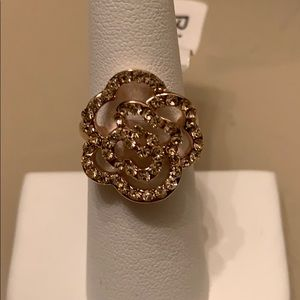 Gold statement ring- new listing